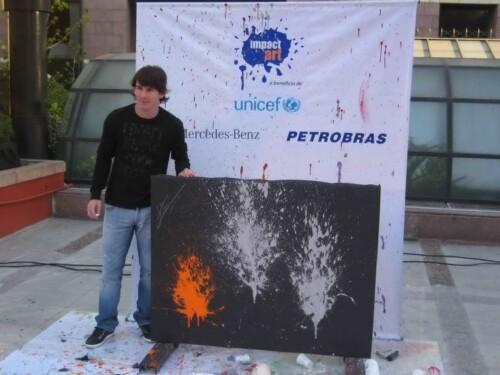 Messi impact art