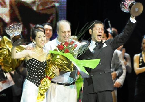 Hiroshi Yamao y Kioko Yamao, ganadores de la categoría Tango Salón