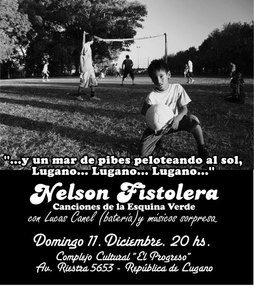 Recital 2011 de Nelson Fistolera