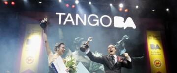 Maximiliano Cristiani y Jesica Arfenoni, ganadores del Campeonato Mundial de Baile de Tango en la categoría Pista