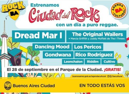 Banner inaugural Ciudad del Rock Buenos Aires