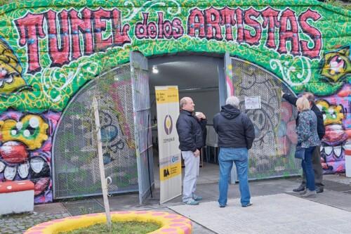 Túnel de los Artistas de Villa Lugano