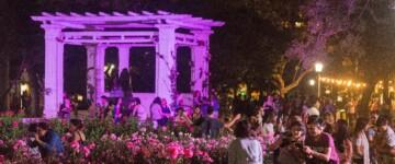 Noche de los Jardines en el Rosedal